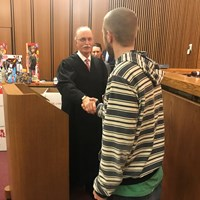 Judge Jackson presides over final Veterans Treatment Court ceremony
