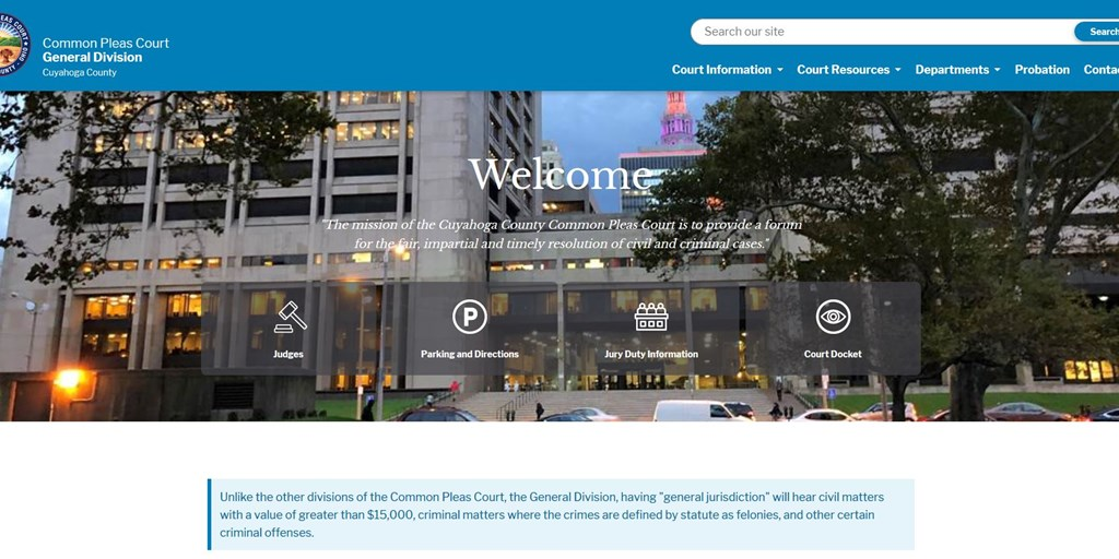 Court Unveils New Website